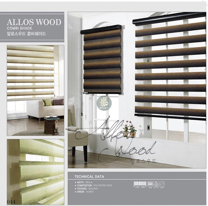 Rèm cửa sổ Aloos Wood