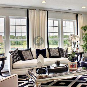 những gợi ý trang trí rèm cửa phòng khách
