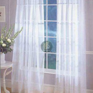 Rèm cửa đẹp với vải voan trắng nhẹ nhàng