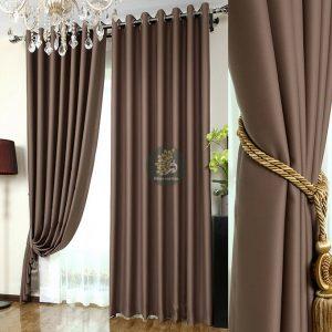 Rèm cửa 2 lớp giá rẻ vải đẹp chống nắng tốt