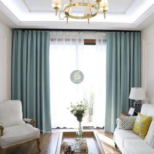 Rèm vải gấm đẹp - khả năng chống nắng tốt