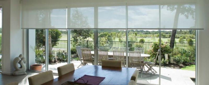 Rèm cửa sổ cuốn chống nắng đẹp