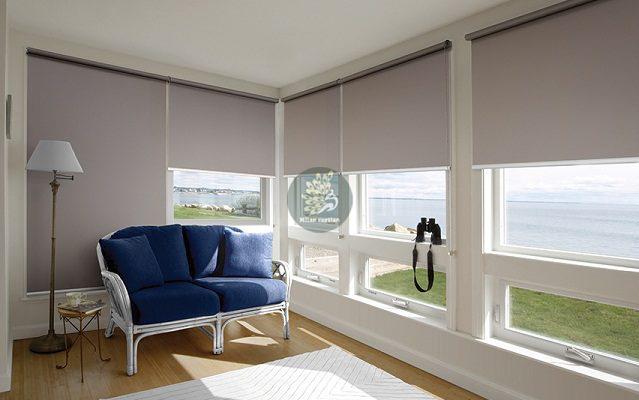 Rèm cuốn đẹp dành cho cửa sổ