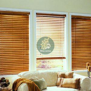 Rèm sáo gỗ cho cửa sổ phòng khách tại Phú Quốc