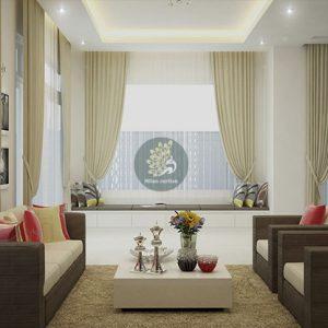Những mẫu rèm cửa đẹp đặc sắc dành cho biệt thự