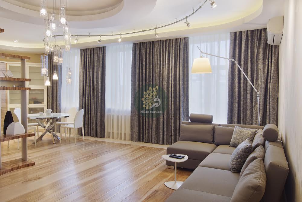 Hướng dẫn cách chọn rèm cửa căn hộ chung cư cao cấp hiện đại
