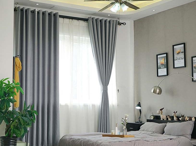 Rèm cửa sổ trong phòng ngủ